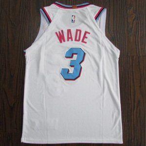 NEW Miami Heat Dwyane Wade Basketball #3Jersey